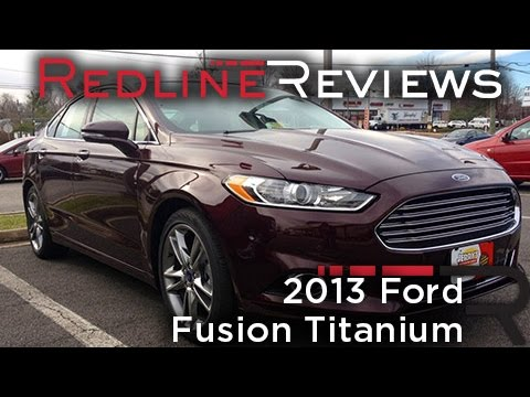 2013 Ford Fusion Titanium Review, Walkaround, Exhaust, Test Drive