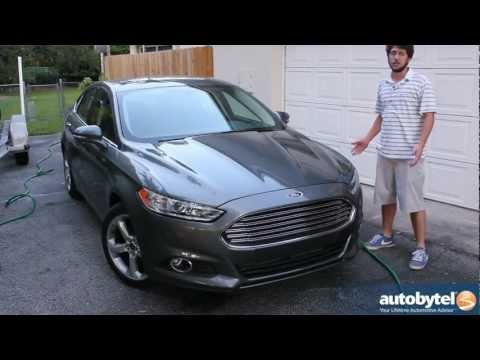 2013 Ford Fusion SE EcoBoost Test Drive & Car Video Review
