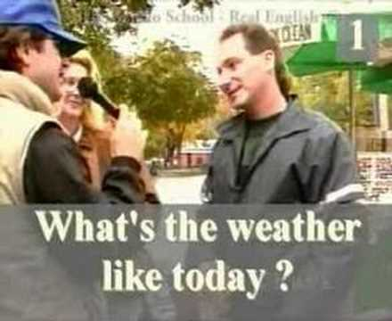 English - What's the Weather Like Today?